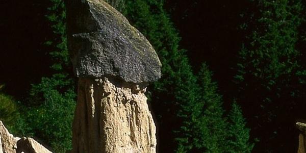 The Earth pyramids are a symbol of the community Ritten-Renon