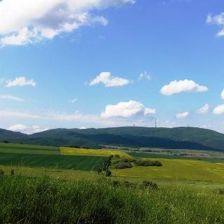 Blick auf den Donnersberg
