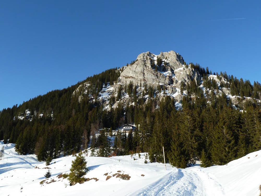 Der Brünnstein im Winter