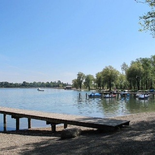 Strandbad in Rimsting