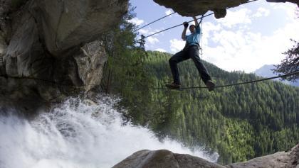 Klettersteig Oetztal : Klettersteig reinhard schiestl bei längenfeld im Ötztal