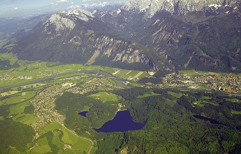 Hechtsee Rundwanderung Aufstieg über Sonneck zurück am Kieferbach entlang