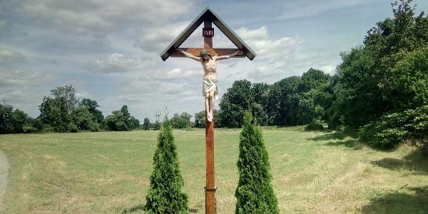 Gebetsäule bei Räckelwitz