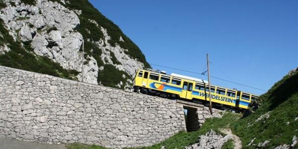 Wendelsteinzahnradbahn.