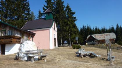 Wildwiese - Kapelle und Widlwiesenhütte