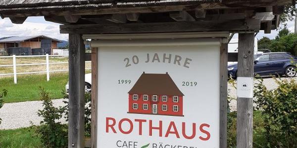 Rothaus mit Hofladen und Cafe