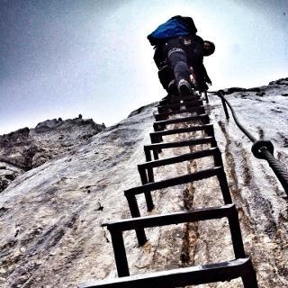 Klettersteig Aplspitz Ferrata