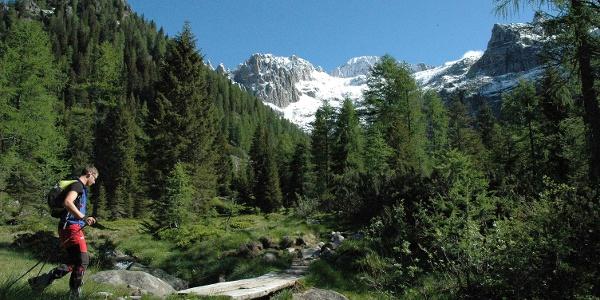 Paesaggio da Alta via del Granito
