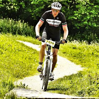 Rennrad oder Mountainbike - beides geht, Rennrad ist besser