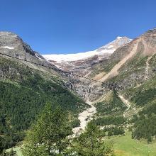 Palü vom Alp Grüm gesehen