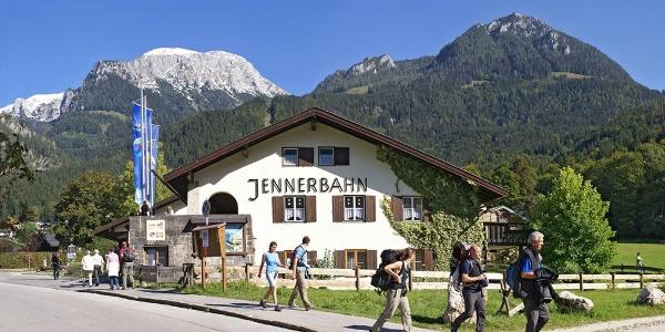 Jennerbahn Talstation