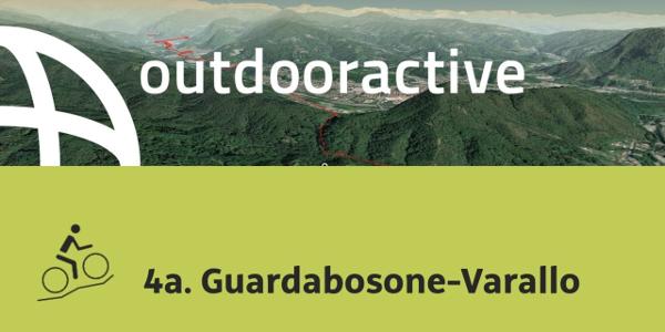 Mountain bike nelle Alpi: 4a. Guardabosone-Varallo