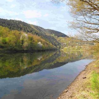 Staubecken bei Heimbach