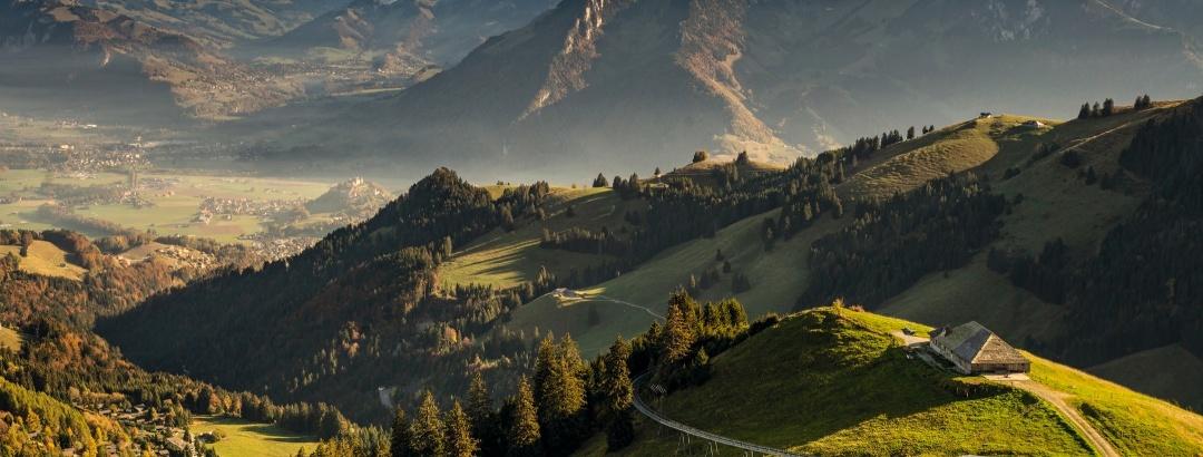 Moleson, Bergbahn