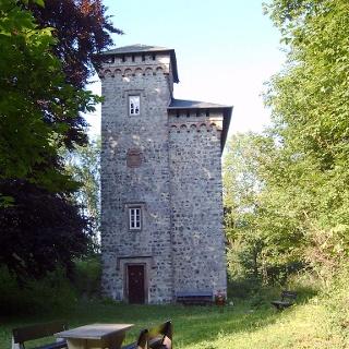 Turm Schlossruine Aremberg