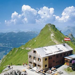 Wormser Hütte auf 2307 m