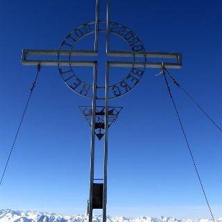 Gipfelkreuz Grünbergspitze