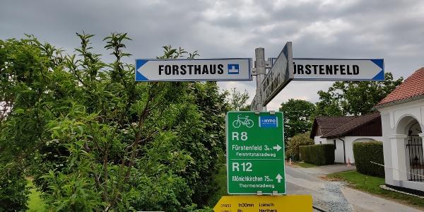 Speltenbach - Kreuzung