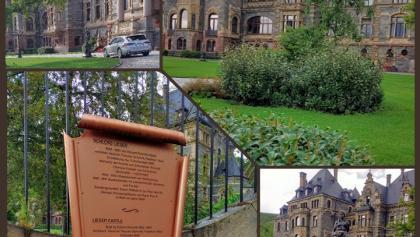Start und Ziel des Weges von Schloss 🏰 Lieser