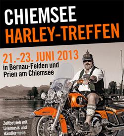 Chiemsee Rundfahrt Harley Treffen