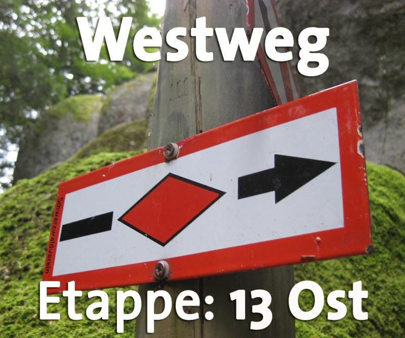 Westweg Etappe 13 (Ost): Oberminseln - Basel