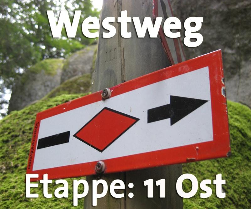 Westweg-Etappe 11 (Ost) Weißenbachsattel - Schweigmatt
