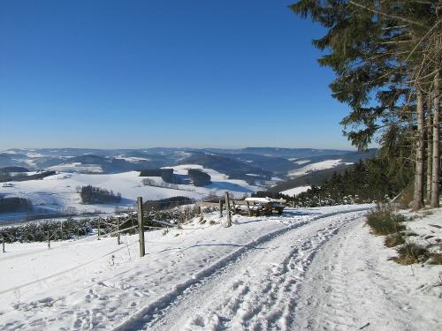 Sauerland-Höhenflug: van Wenholthausen naar Bad Fredeburg. Wandelen met de bus & trein