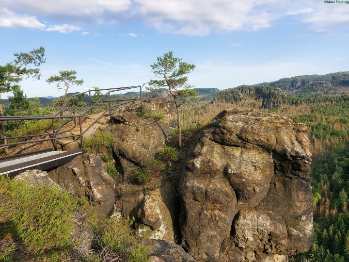 Foto Sandsteinkanzel des Großsteins