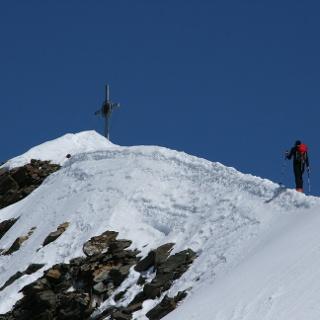 Nur noch wenige Meter bis zum Gipfelziel.