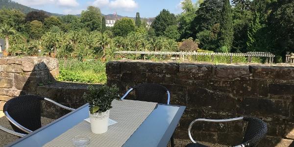 Aussicht Schlosscafé