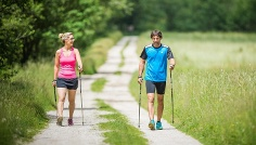 Nordic Walking Niederrasen - Neunhäusern