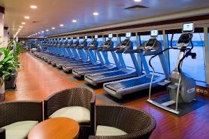 Fitnes centrum v hoteli Hubert