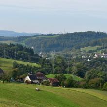 Blick auf Gutenburg und Bürgeln