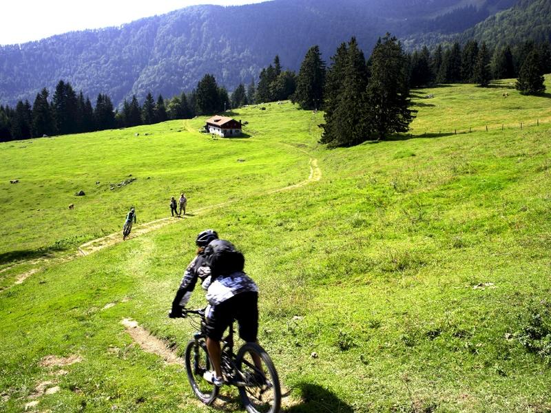 Mountainbike Tour auf die Frasdorfer Hütte