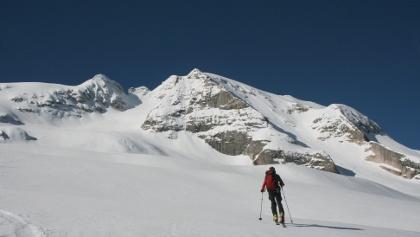 Punta Penia - ein Skitourenklassiker in den Dolomiten.