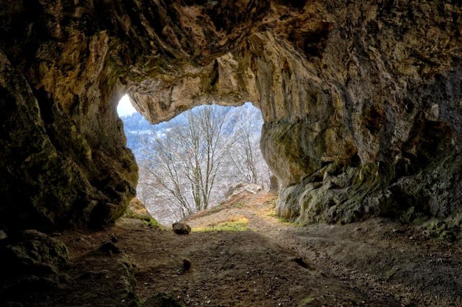 Höhlenwanderweg zum Grafenloch