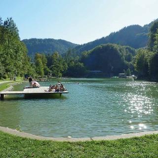 Der Luegsteinsee in Oberaudorf