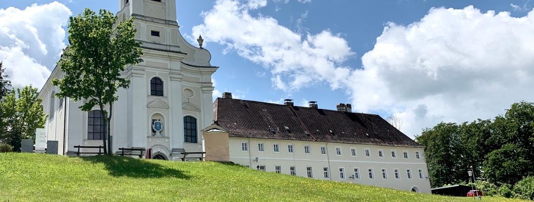 Die Wallfahrtskirche Mariae Geburt in Maria Langegg im Dunkelsteinerwald