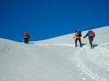Ein Erlebnisbericht des alpinen Ausbildungswochenendes für Schneeschuh-Tournegeher
