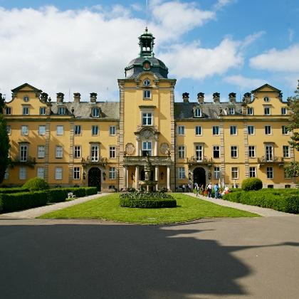 Frontansicht Schloss Bückeburg