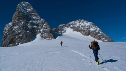 Vor dem Schulteranstieg (Klettersteig), Alternative zum Rankluft-Klettersteig im Sommer