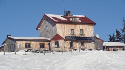 Die Julius-Seitner-Hütte am Eisenstein