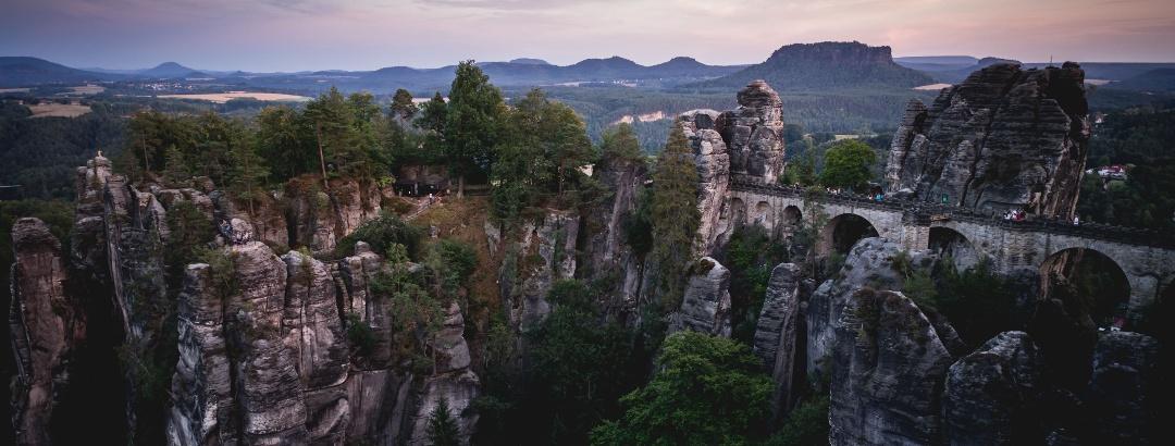 Wandern im Elbsandsteingebirge in der Sächsischen Schweiz