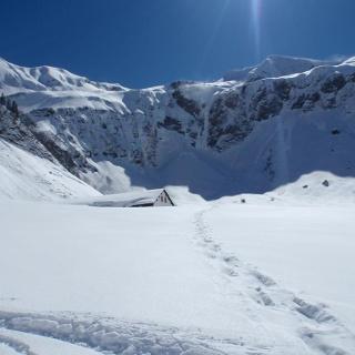 Käser-Alpe im Winter