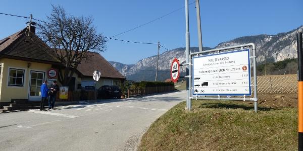 Mautstelle Hohe Wandstraße