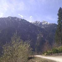 Mountainbike zur Enningalm