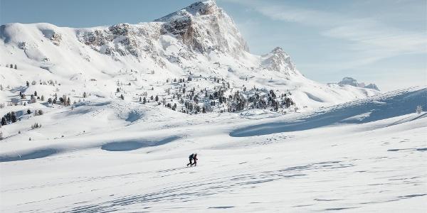 Scialpinismo e vista sul Setsas