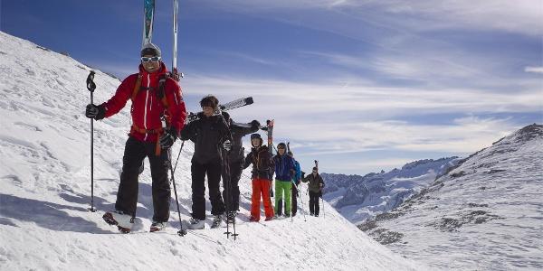 Sci alpinismo Val Mezdi
