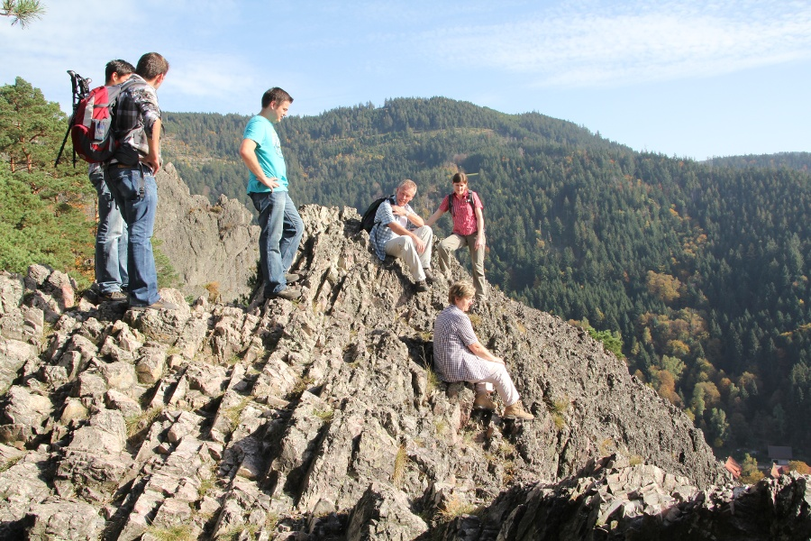 Klettersteig Schwarzwald : Klettersteig grundkurs bergschule kleinwalsertal