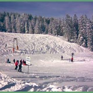 Der Skilift am Ochsenstall.
